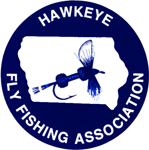 Hawkeye Fly Fishing Association Logo