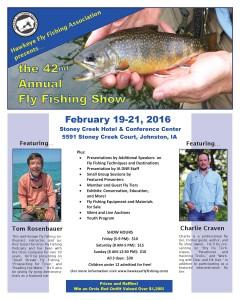 Feb 19 21 2016 hffa annual meeting johnston ia for Fly fishing iowa